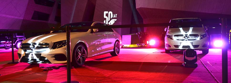 Gala Mercedes - 50 Lat Auto Frelik