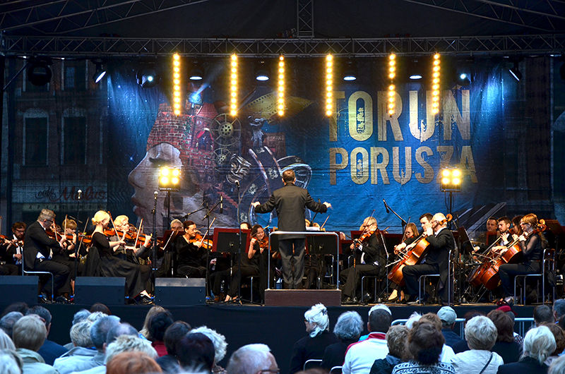 Nagłośnienie orkiestry symfonicznej - Toruńska Orkiestra Symfoniczna