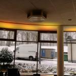 Dekoracja światłem led bar oświetlenie bankietu 1