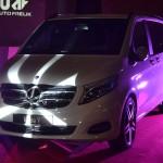 Premiera auta event, oświetlenie Mercedes