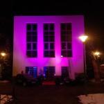 Dekorowanie światłem - fasada budynku